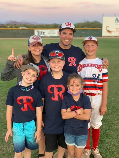 My family at the ball field :)