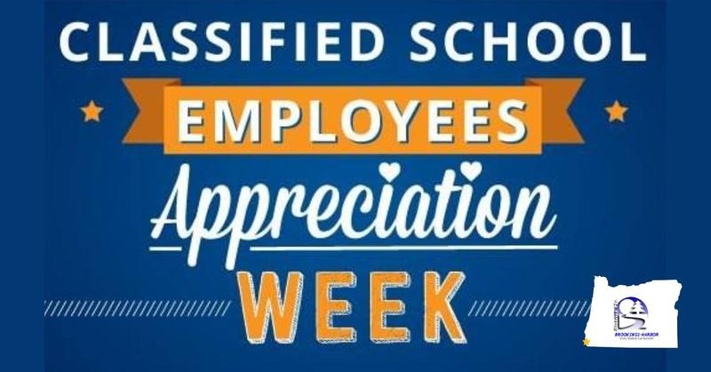 Classified Employee Appreciation Week