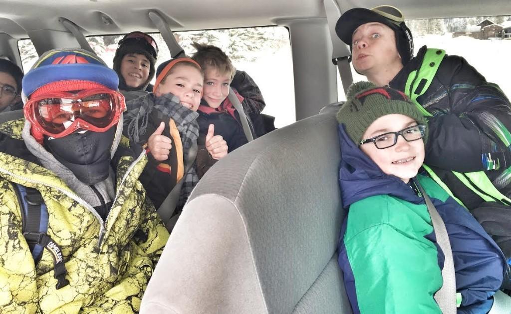 Ski trip fun!
