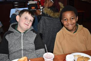 Otken Elementary's Golden Corral Incentive:  Scholars that grew 1 Level or 40 or more points on the Middle of the Year iReady assessment taken in January 2020  This is Next Level Growth!  #ItsComeBackTime