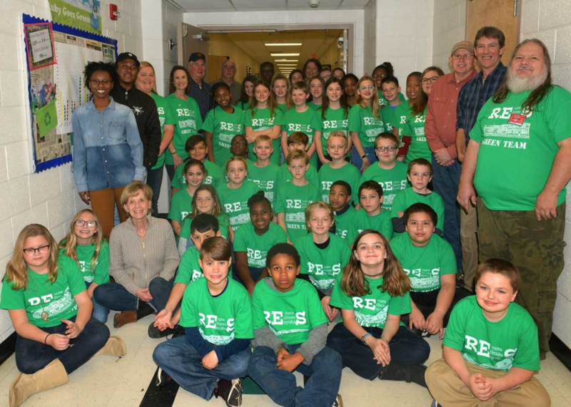 Ruby Elementary's Green Team Featured Photo