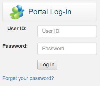 Parent Portal login pic