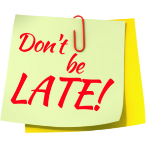 Tardy to school in the morning?  There is a new procedure! Thumbnail Image