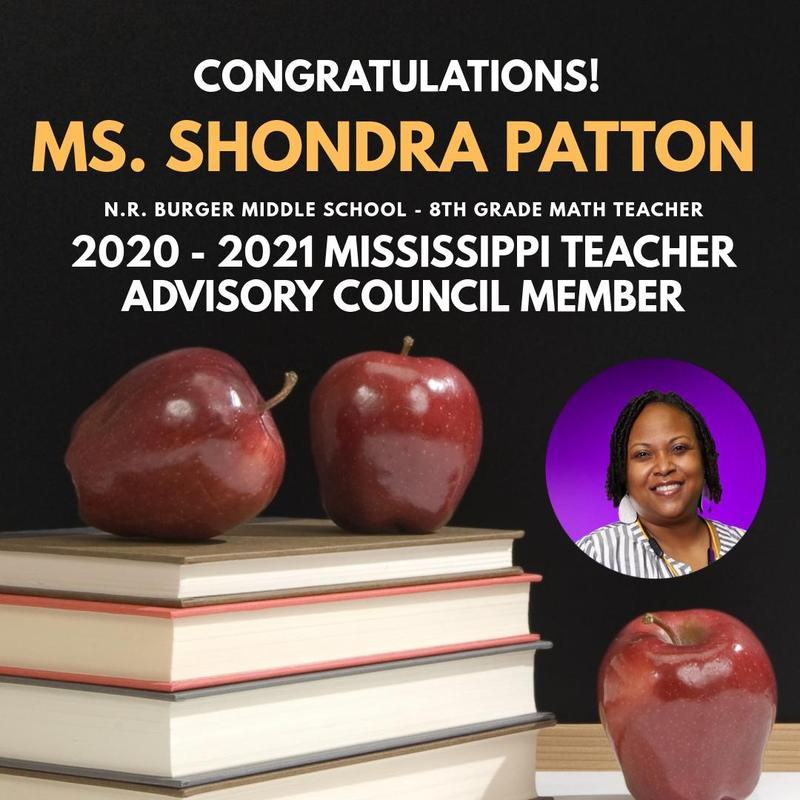 MDE Announces New Members of the Mississippi Teacher Advisory Council Featured Photo