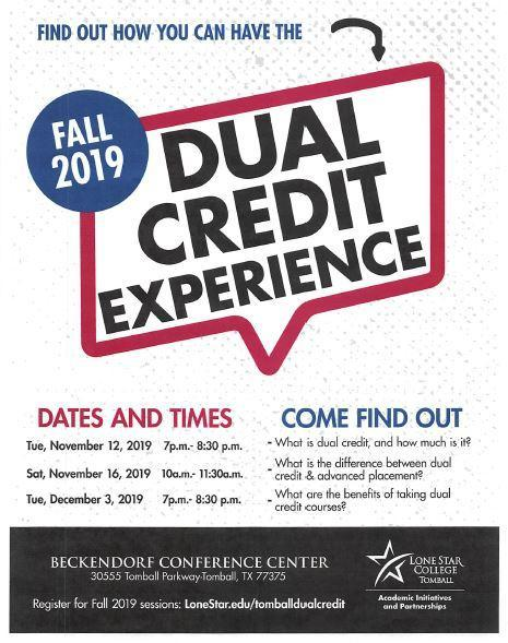 Dual Credit Experience Fall 2019