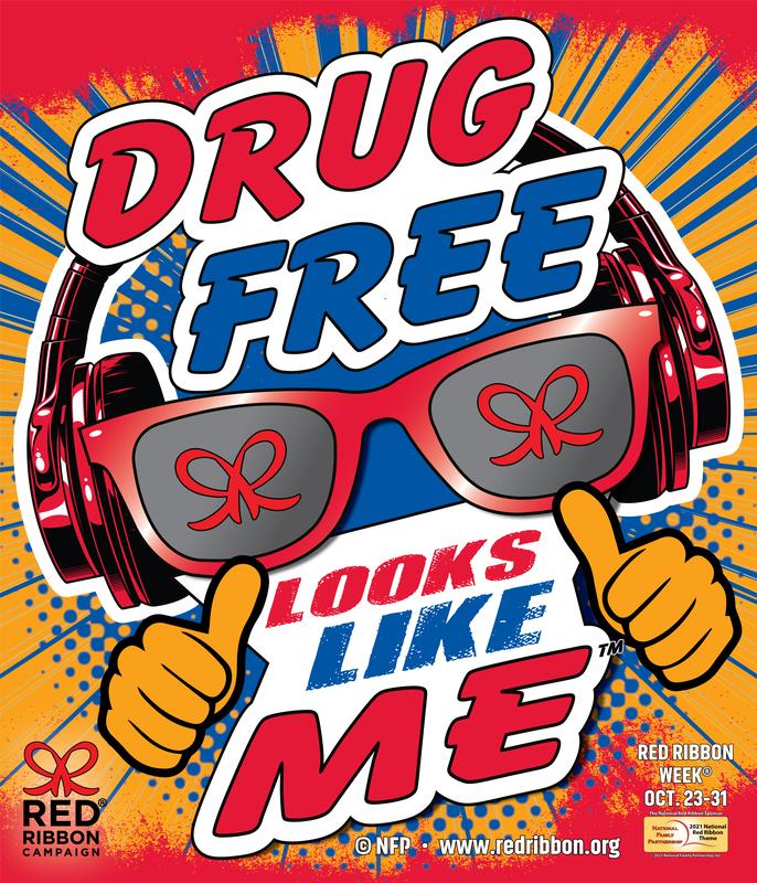 Drug Free Red Ribbon Week