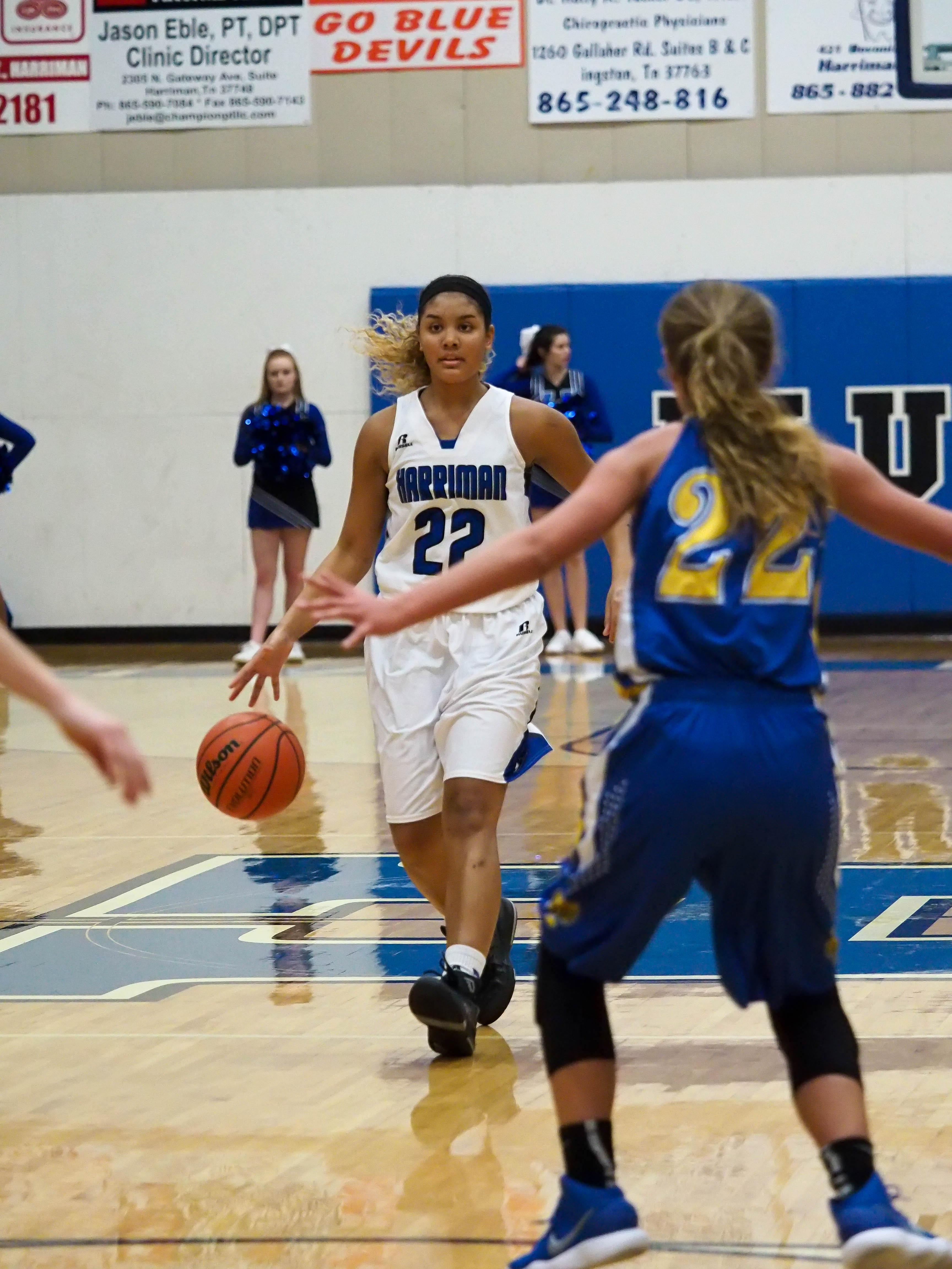 HHS Versus Sunbright Girls Basketball 2017