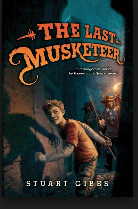 Book Cover The Last Musketeer