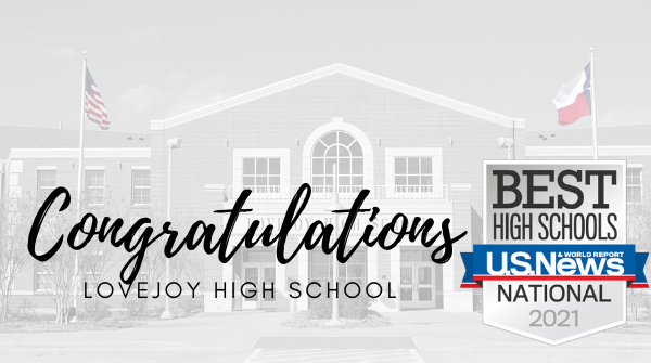 Lovejoy High School Continues to be Named U.S. News & World Report Best High School Featured Photo