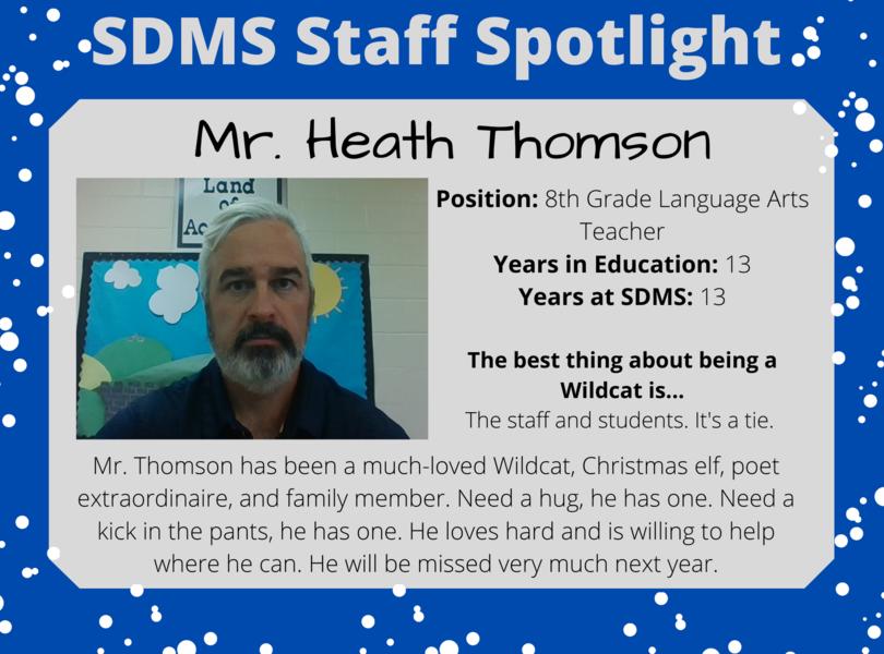 Staff Spotlight - Heath Thomson