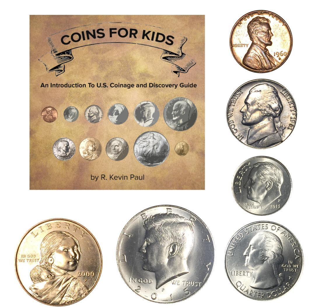coins for kids graphic