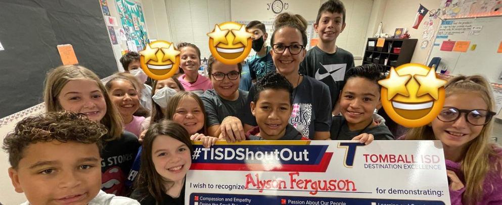 Shout Out for Mrs. Ferguson