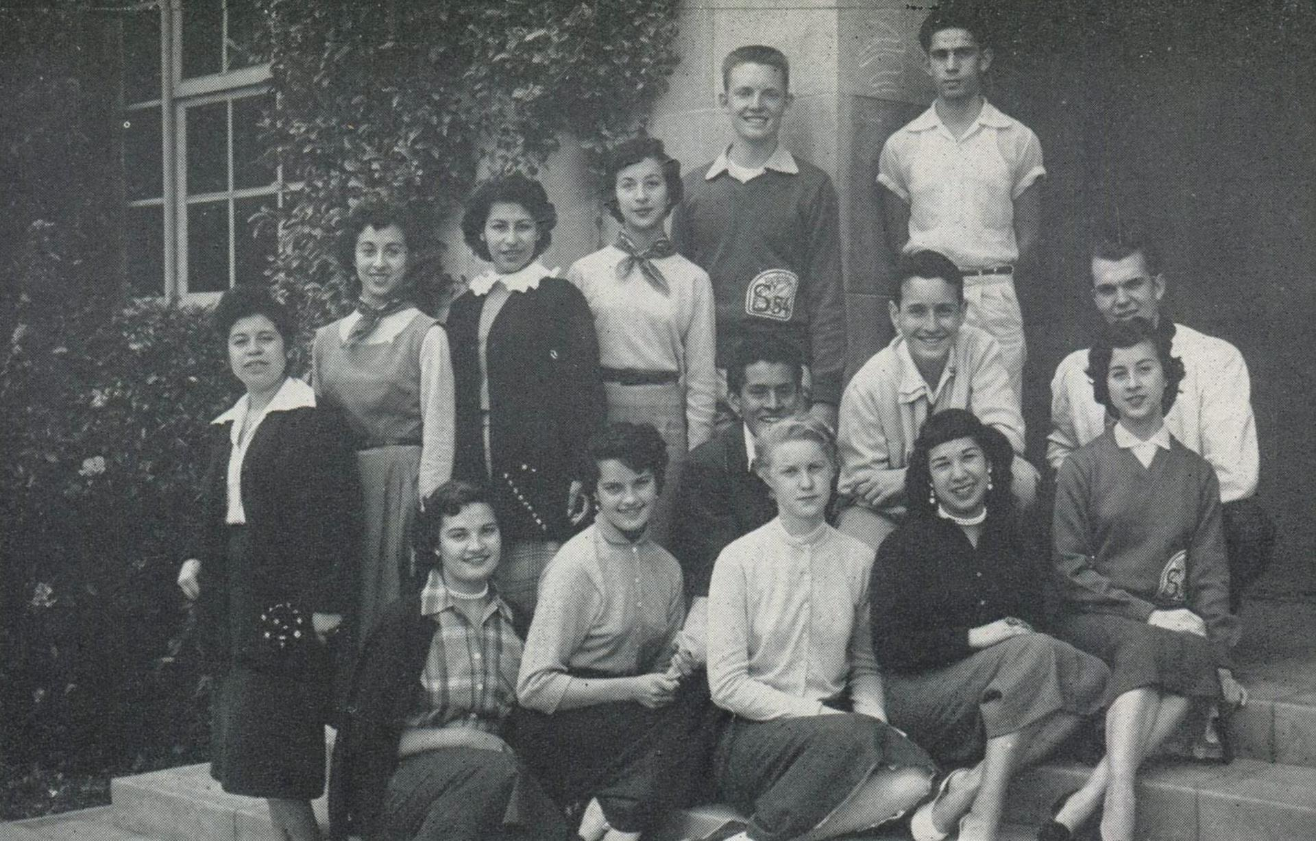 World Affairs Club 1954