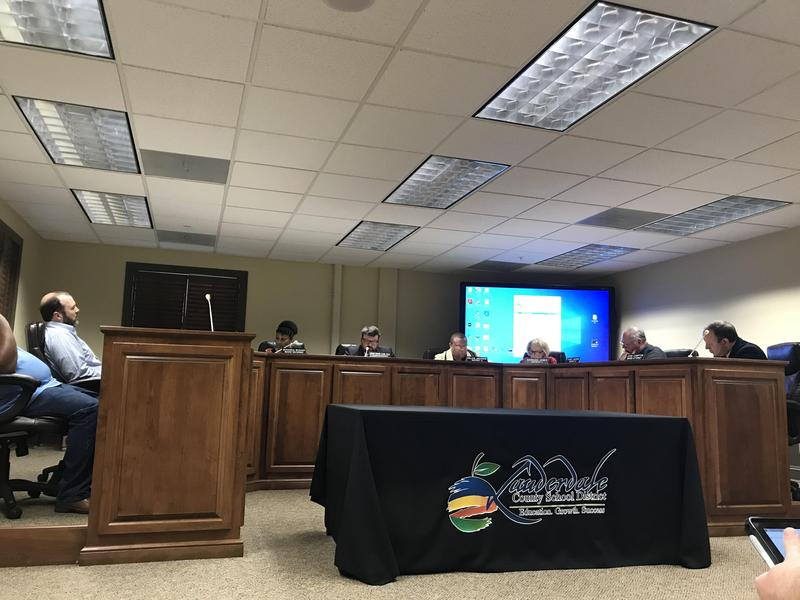 LCSD School Board Meeting Photo