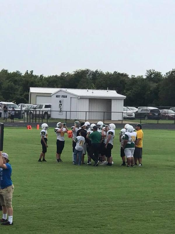 Week 2 of Middle School Football Deals with Rainy Weather Featured Photo