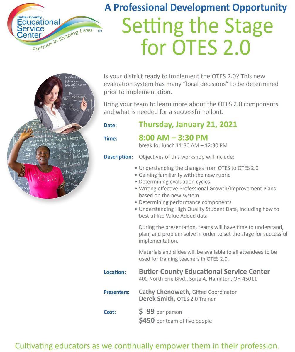 OTES 2.0 Flyer