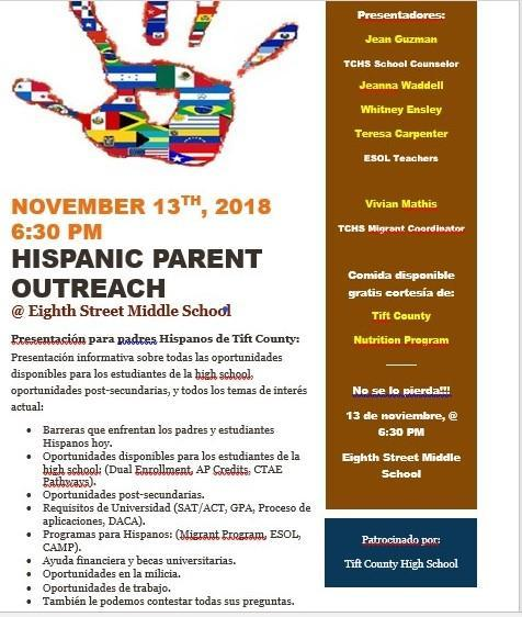Hispanic Parent Outreach Program Featured Photo
