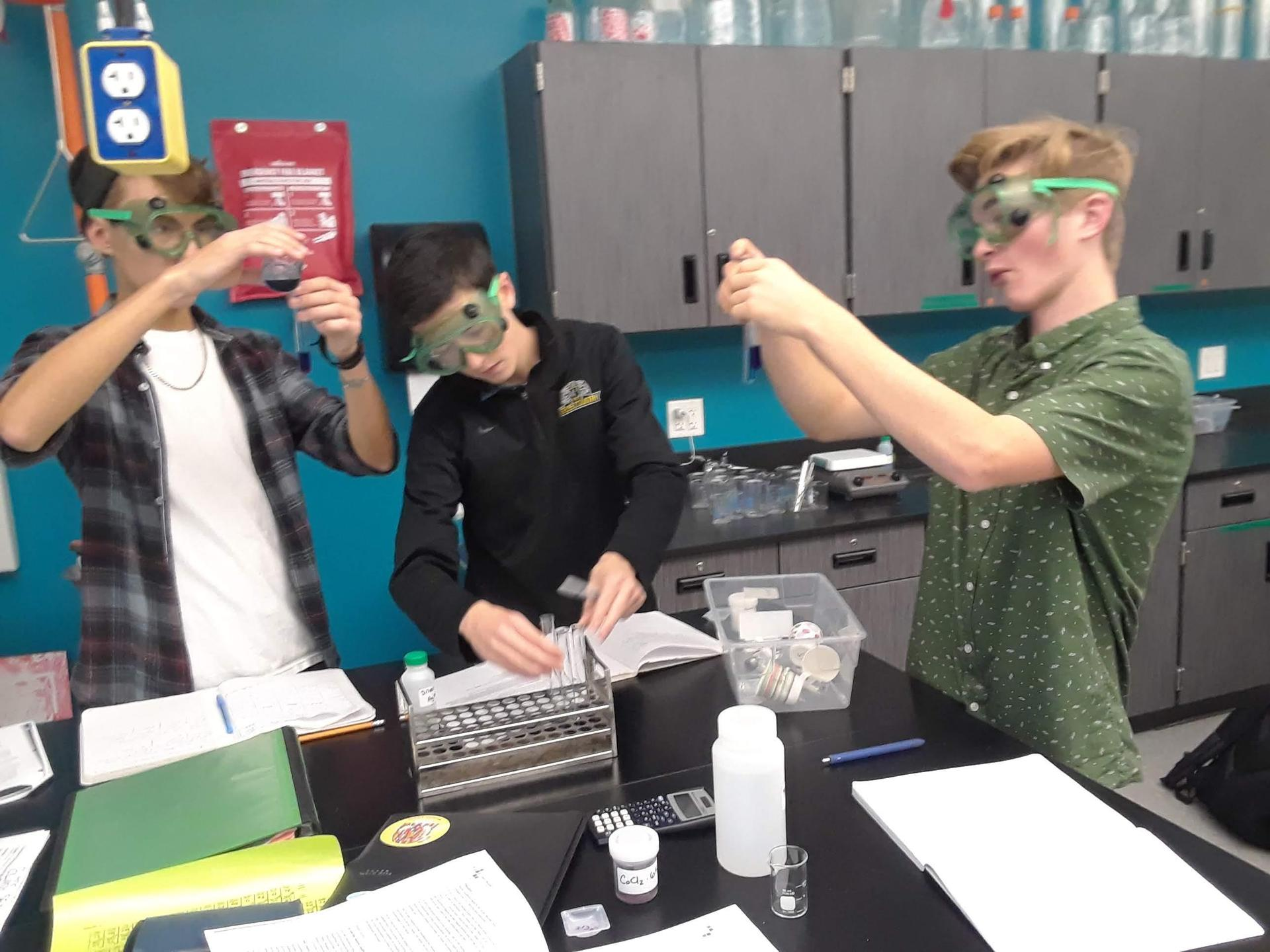 Real live chemists!