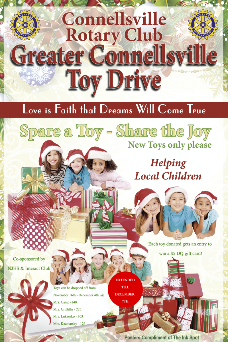Toy Drive: Now through Dec 7! Featured Photo