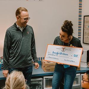 TTCU Classroom Cash Giveaway