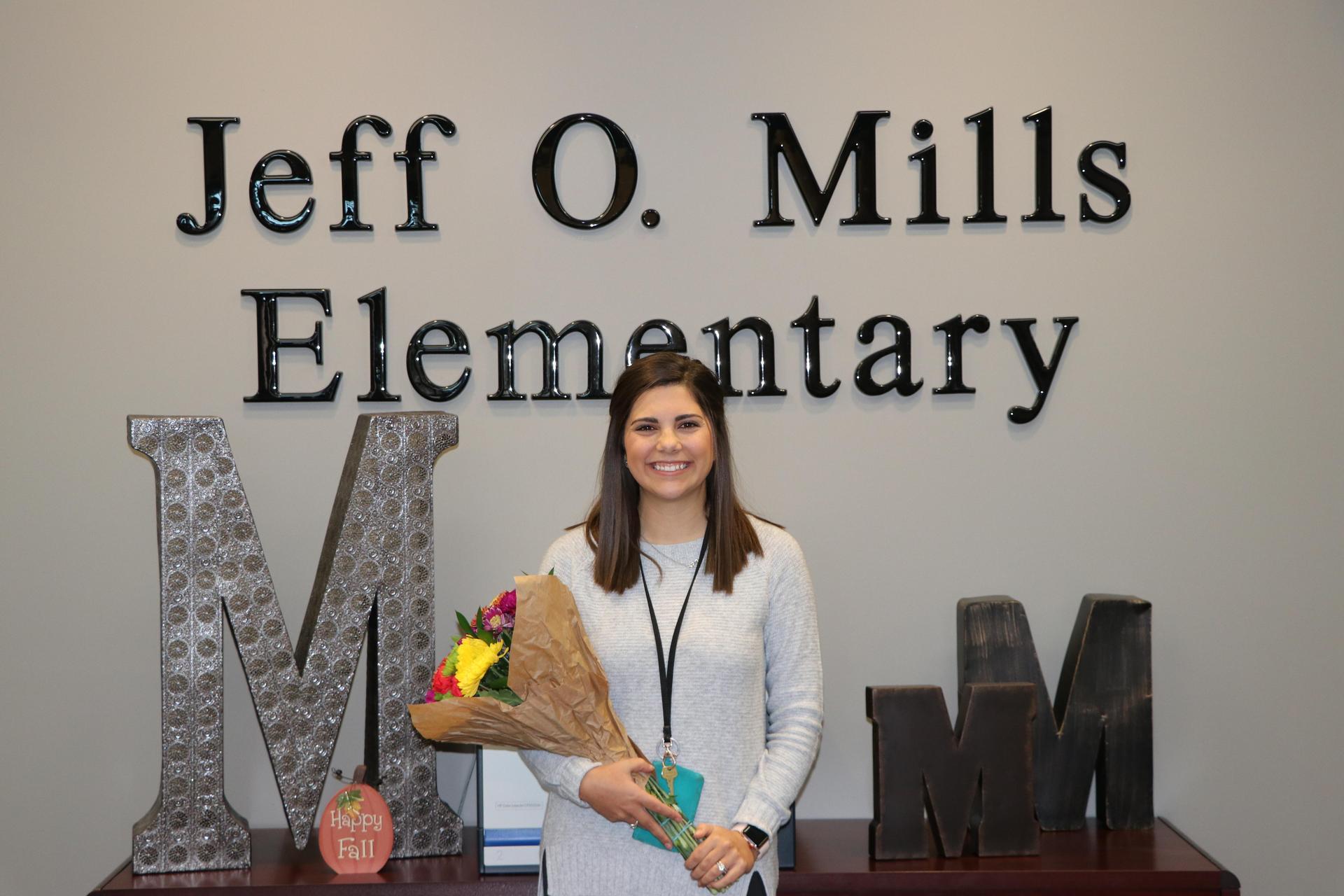 2019-2020 Mills Elementary Teacher of the Year