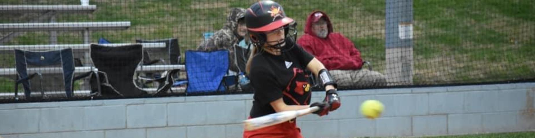 MHS Softball Samantha Hurt
