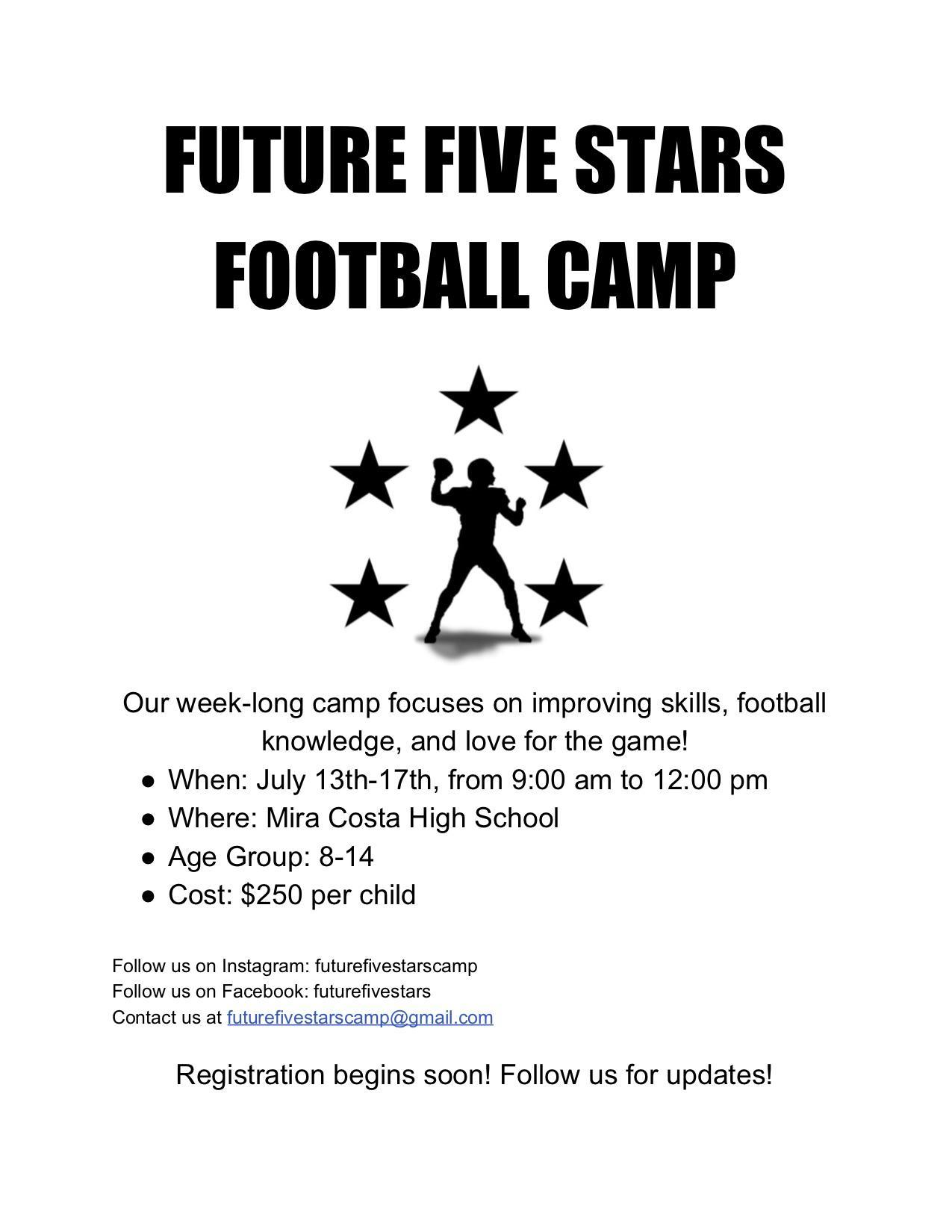 Future Five Football Camp