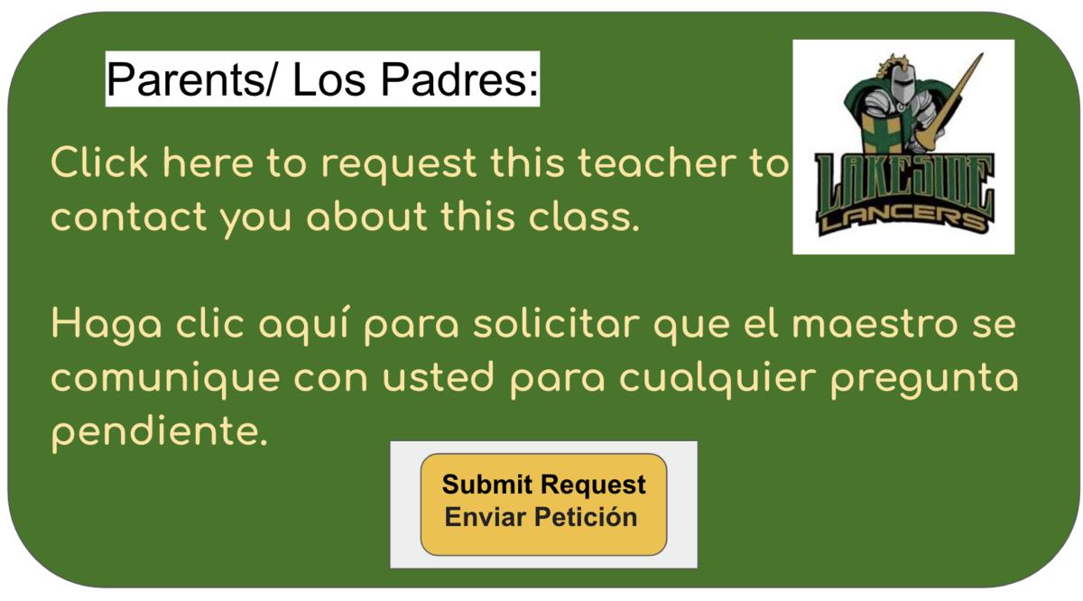 Parent Request