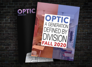 Photo of Optic Magazine covers