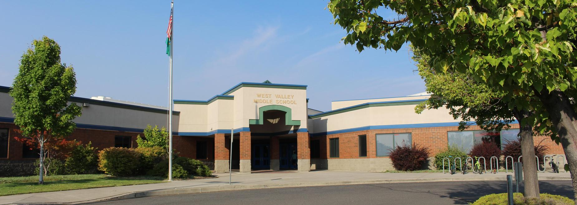 West Valley Middle School entrance