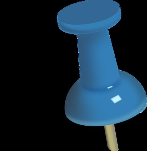 Clip Art of Push Pin