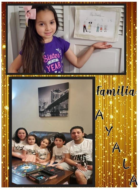 Family Ayala portrait