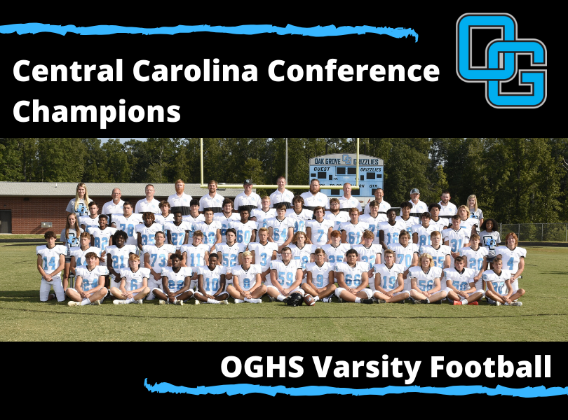 CCC Champions OGHS Grizzly Football
