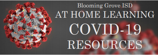 BGISD At Home Learning and COVID-19 Resource Site Thumbnail Image