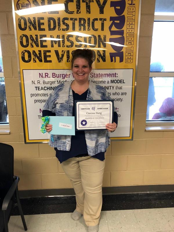 BMS Teacher of the Month Featured Photo