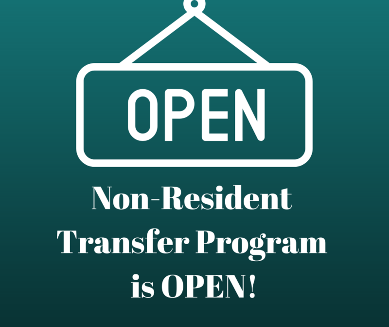 NRT Program is Open
