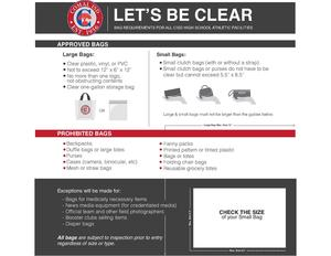 Comal ISD Clear Bag Policy