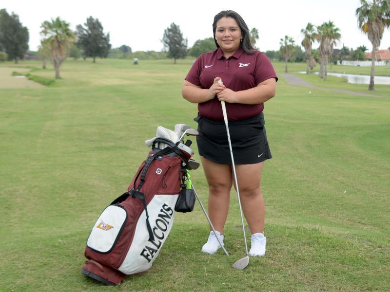 LFHS golf student-athlete Natali Barrera