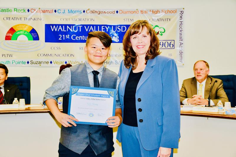Trustees Celebrate Star Students, Community Partners Featured Photo
