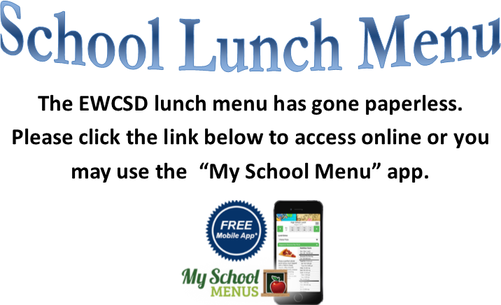 School Lunch Menu Info