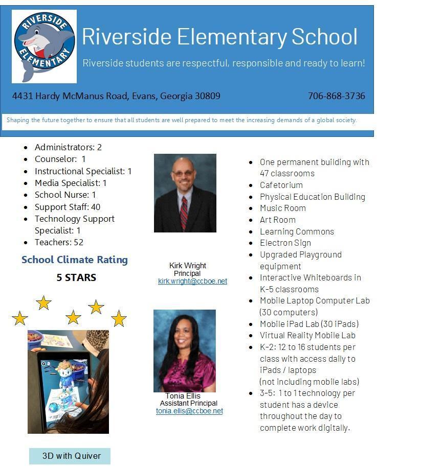 School Profile pg 1