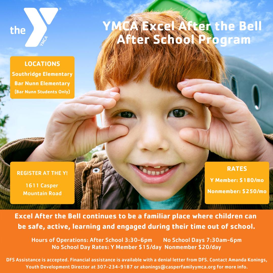 YMCA After School program flyer