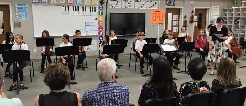 MIS beginning orchestra holds first concert of the year Featured Photo