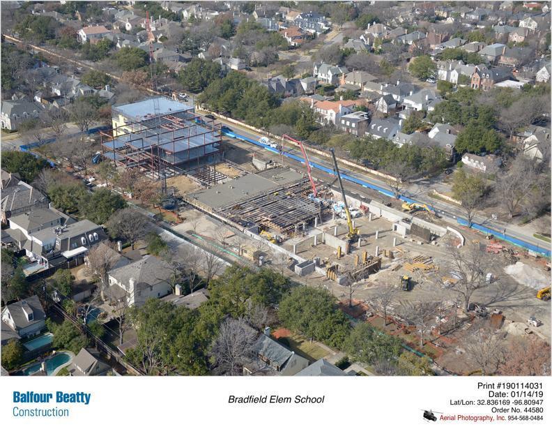 Progress Reports Construction Services Highland Park Independent