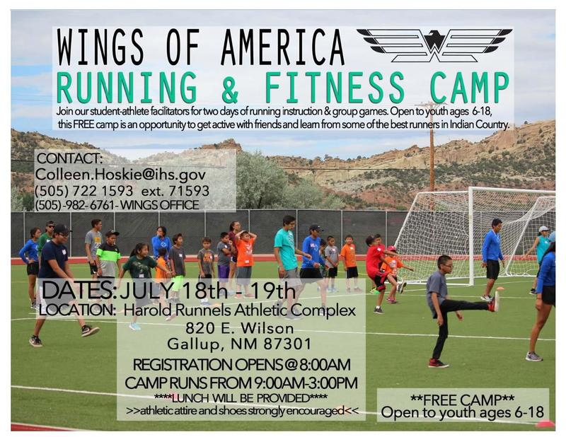 Running Camp Flyer