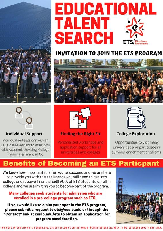 Educational Talent Search - Join Today! Featured Photo