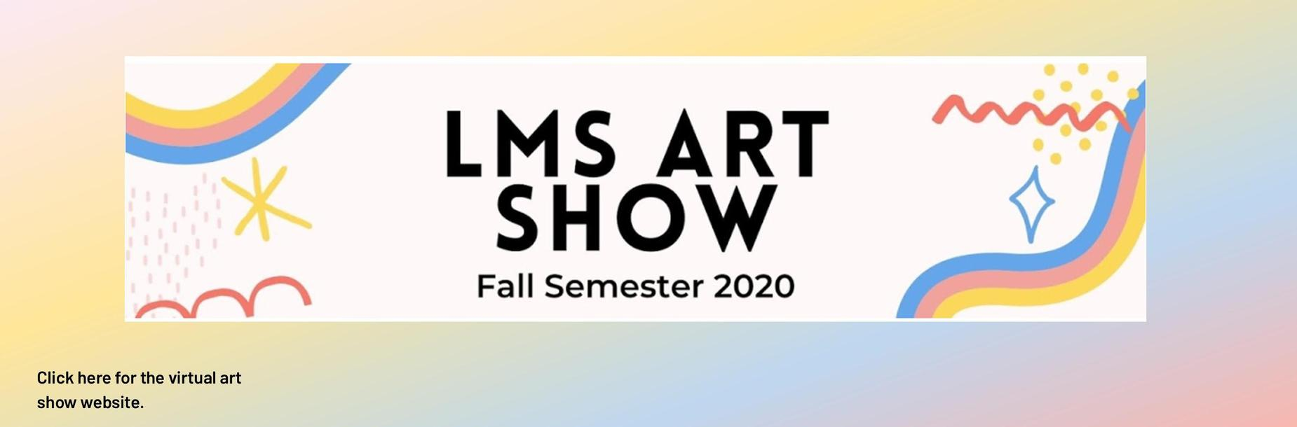 Art show website link
