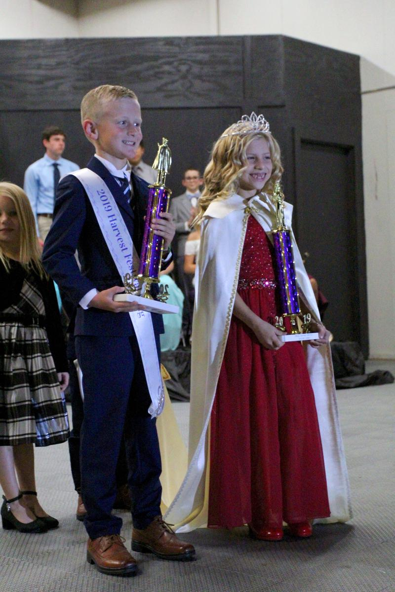 3rd Grade Reigns as Harvest Festival King & Queen! Thumbnail Image