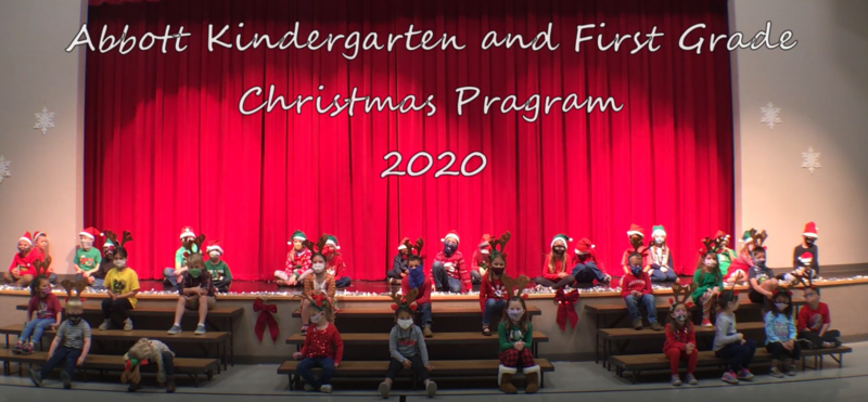 Kinder and 1st Grade Christmas Video Featured Photo