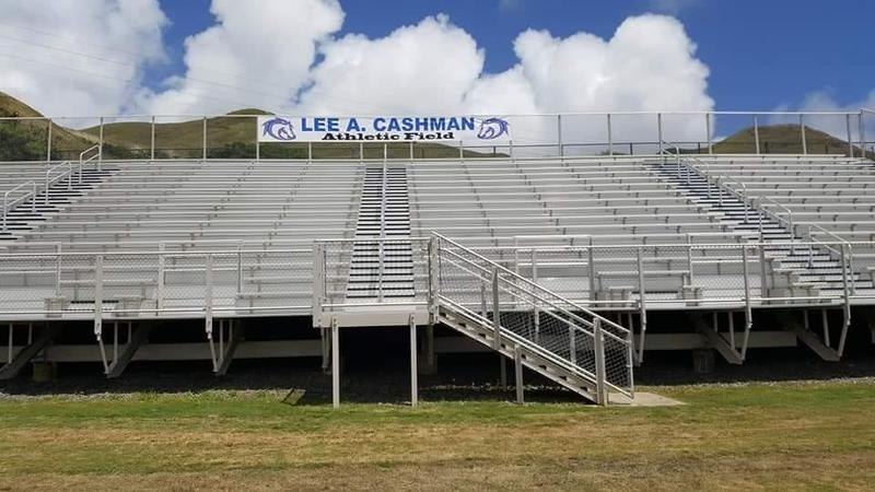 Grand Opening of the Lee A. Cashman Athletic Field and Homecoming Pep Rally Featured Photo